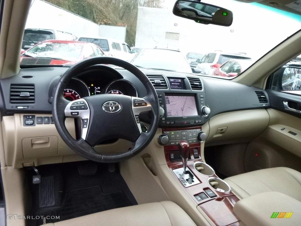 2012 Black Toyota Highlander Limited 4wd 117460073 Photo 8 Car Color Galleries