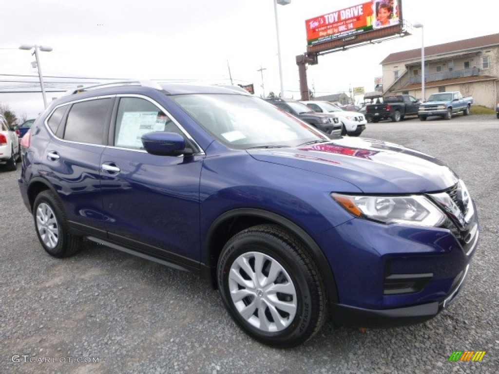 2017 caspian blue nissan rogue s awd 117459992 car color galleries. Black Bedroom Furniture Sets. Home Design Ideas