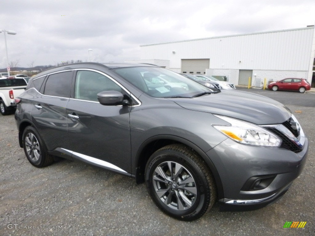 2017 gun metallic nissan murano sv awd 117459987 car color galleries. Black Bedroom Furniture Sets. Home Design Ideas