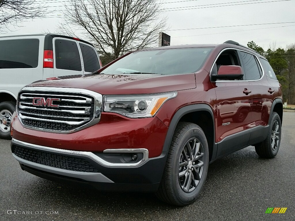 2017 Crimson Red Tintcoat GMC Acadia SLT #117459527 ...