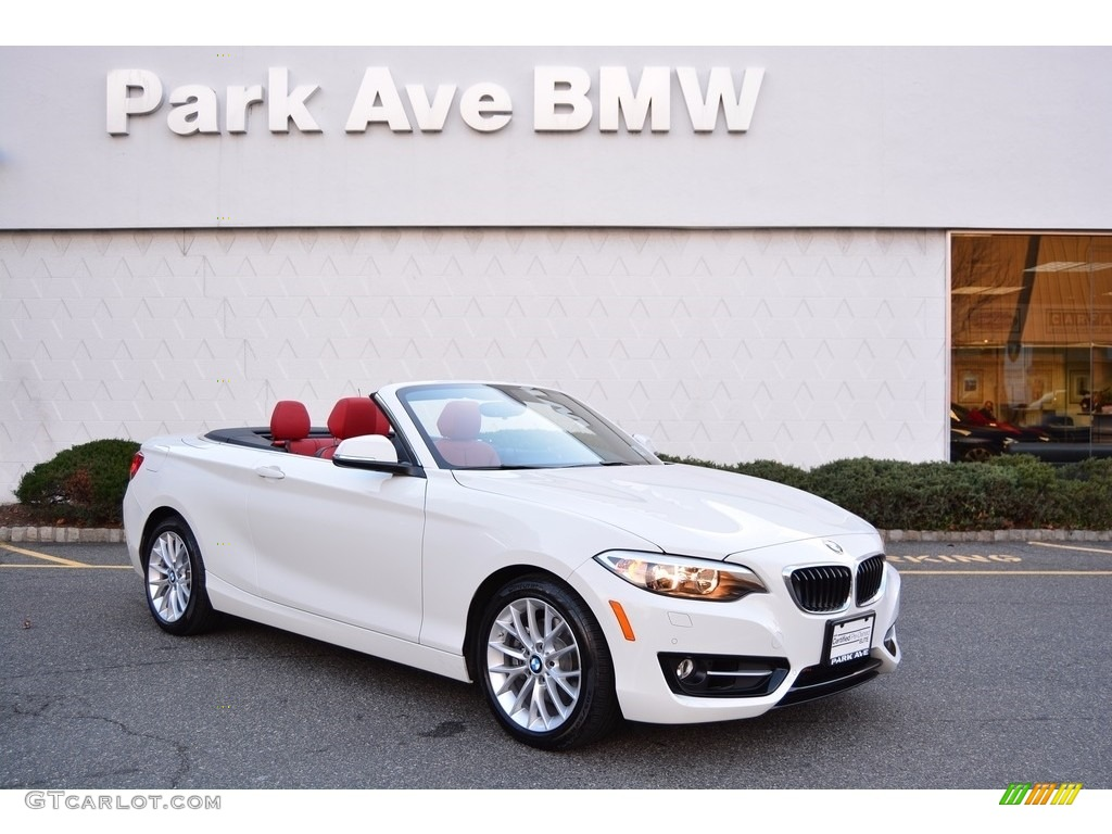 2016 Alpine White Bmw 2 Series 228i Xdrive Convertible 117459698 Photo 2 Car