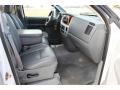 2006 Bright White Dodge Ram 1500 Laramie Quad Cab 4x4  photo #11