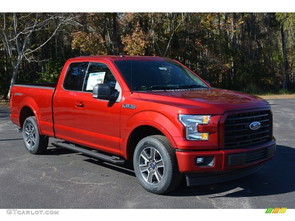 2017 ruby red ford f150 xlt supercrew 117459960. Black Bedroom Furniture Sets. Home Design Ideas
