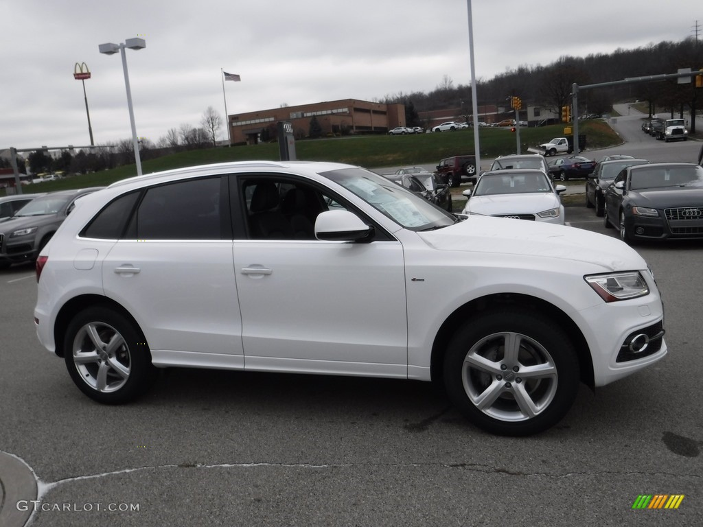 2017 Ibis White Audi Q5 2 0 Tfsi Premium Plus Quattro 117459819 Photo 9 Car