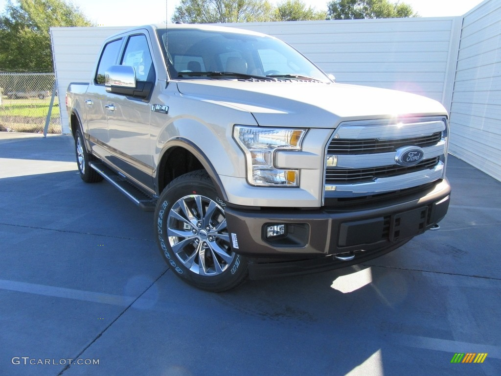 White Gold Ford F