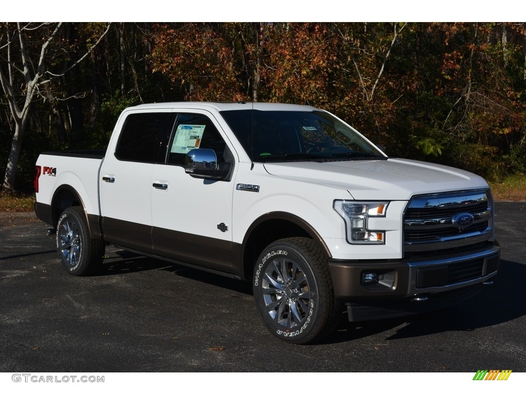 2017 oxford white ford f150 king ranch supercrew 4x4. Black Bedroom Furniture Sets. Home Design Ideas