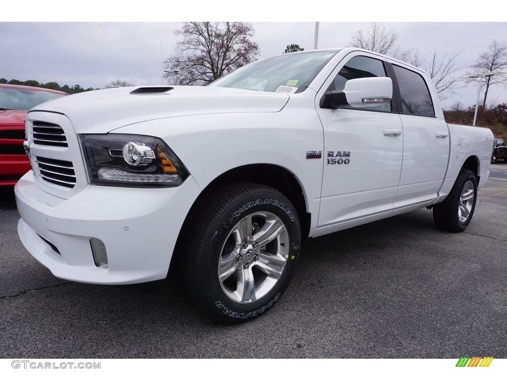 2017 bright white ram 1500 sport crew cab 117509518 car color galleries. Black Bedroom Furniture Sets. Home Design Ideas