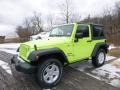 2017 Hypergreen Jeep Wrangler Sport 4x4  photo #1