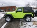 2017 Hypergreen Jeep Wrangler Sport 4x4  photo #3