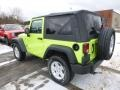 2017 Hypergreen Jeep Wrangler Sport 4x4  photo #4
