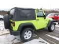 2017 Hypergreen Jeep Wrangler Sport 4x4  photo #6