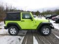2017 Hypergreen Jeep Wrangler Sport 4x4  photo #7