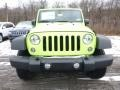 2017 Hypergreen Jeep Wrangler Sport 4x4  photo #12