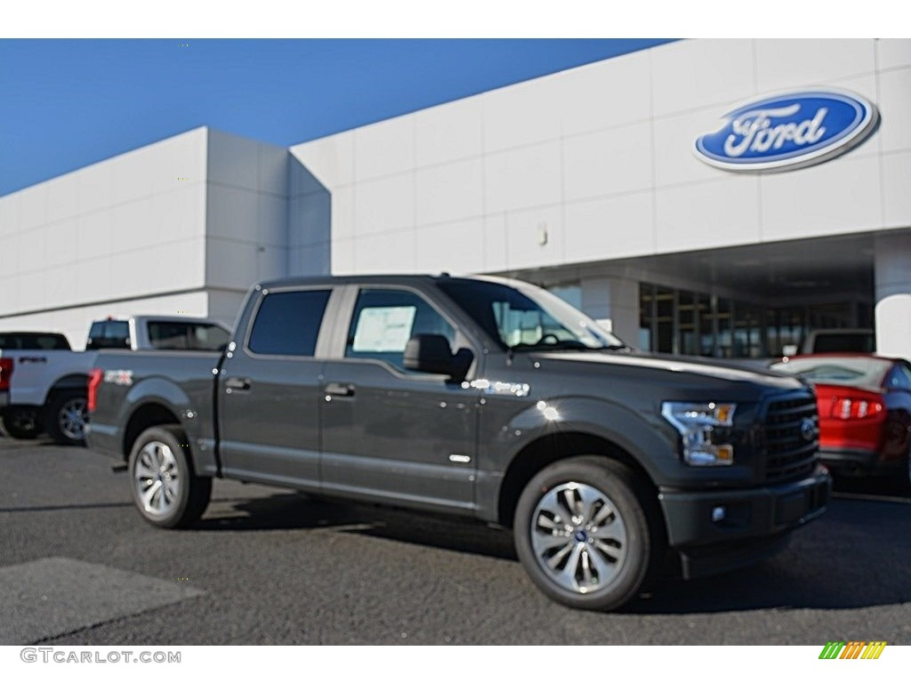 2017 lithium gray ford f150 xl supercrew 117509546 car color galleries. Black Bedroom Furniture Sets. Home Design Ideas