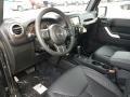 Black Interior Photo for 2017 Jeep Wrangler Unlimited #117539459