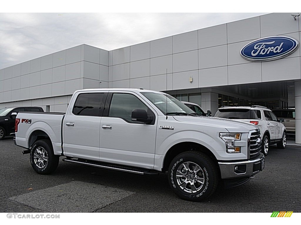 2017 oxford white ford f150 xlt supercrew 4x4 117532413 photo 4 car color. Black Bedroom Furniture Sets. Home Design Ideas