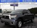 2007 Blue Streak Metallic Toyota Tundra SR5 Double Cab 4x4  photo #1