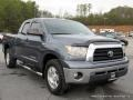 2007 Blue Streak Metallic Toyota Tundra SR5 Double Cab 4x4  photo #7