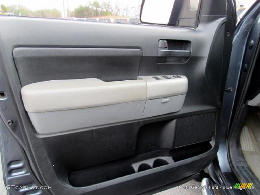 2007 Tundra SR5 Double Cab 4x4 - Blue Streak Metallic / Graphite Gray photo #23