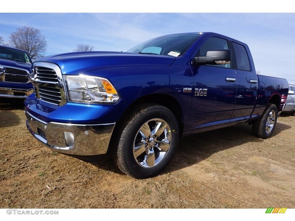 2017 blue streak pearl ram 1500 big horn quad cab 4x4 117593143 car color. Black Bedroom Furniture Sets. Home Design Ideas