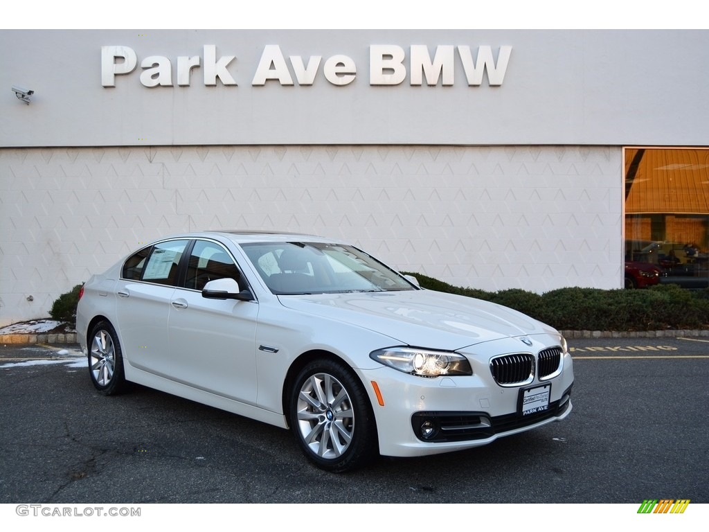 2016 Mineral White Metallic Bmw 5 Series 535i Xdrive Sedan