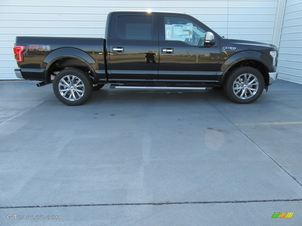 2017 shadow black ford f150 lariat supercrew 4x4 117654794 photo 3 car color. Black Bedroom Furniture Sets. Home Design Ideas