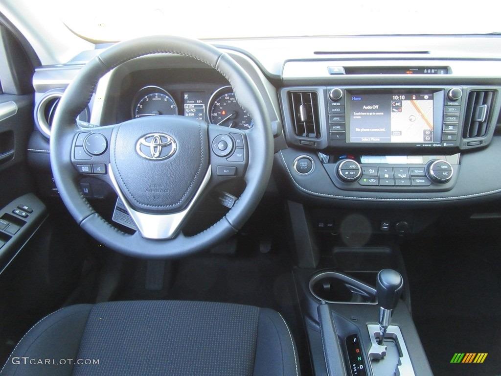 2017 Toyota Rav4 Xle Black Dashboard Photo 117682659