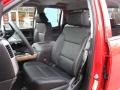 Jet Black Front Seat Photo for 2017 Chevrolet Silverado 1500 #117691110