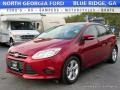 Ruby Red 2014 Ford Focus SE Hatchback