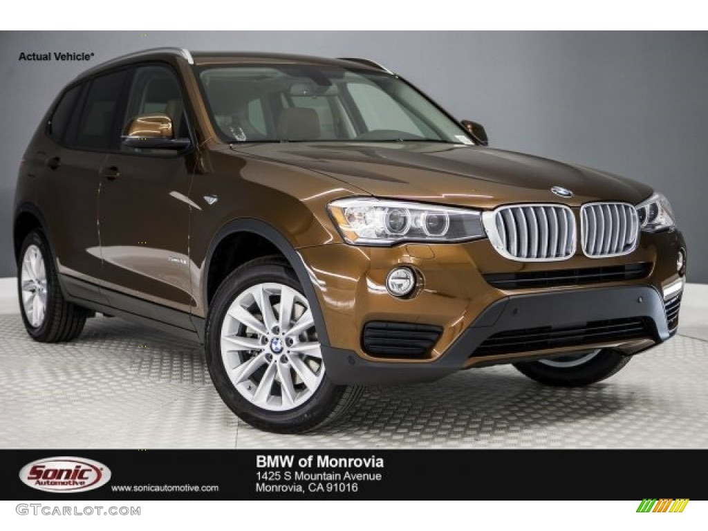 2017 Chestnut Bronze Metallic Bmw X3 Sdrive28i 117680241