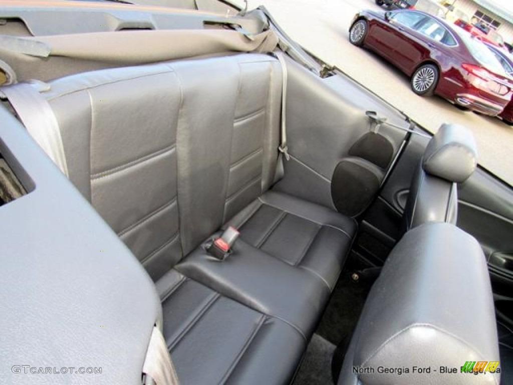 2000 Mustang V6 Convertible - Silver Metallic / Dark Charcoal photo #14