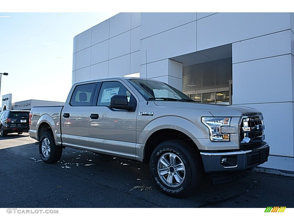 2017 white gold ford f150 xlt supercrew 4x4 117680177 photo 2 car color galleries. Black Bedroom Furniture Sets. Home Design Ideas