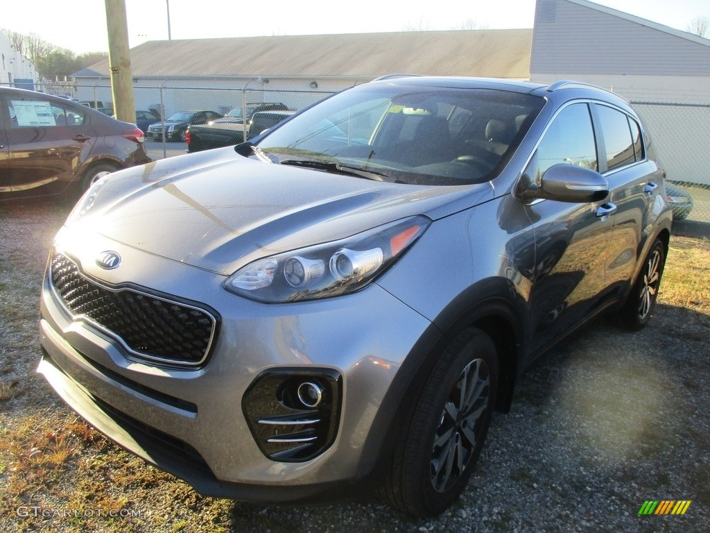 2017 Sportage EX - Mineral Silver / Black photo #1