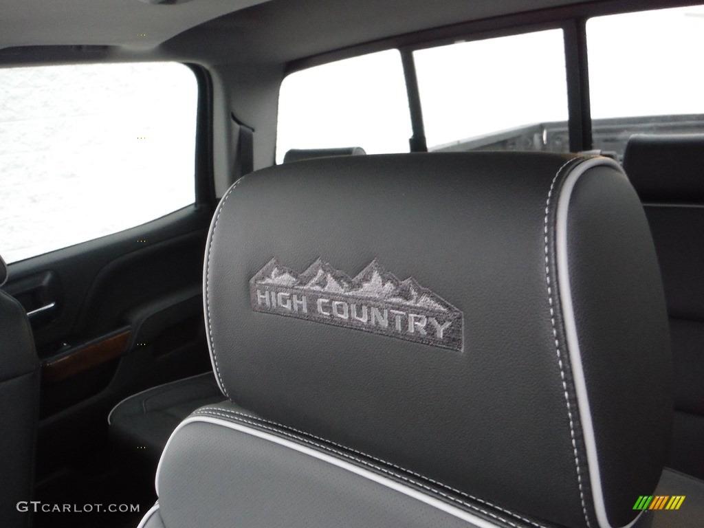 2017 Chevrolet Silverado 1500 High Country Crew Cab 4x4 Marks and Logos Photos