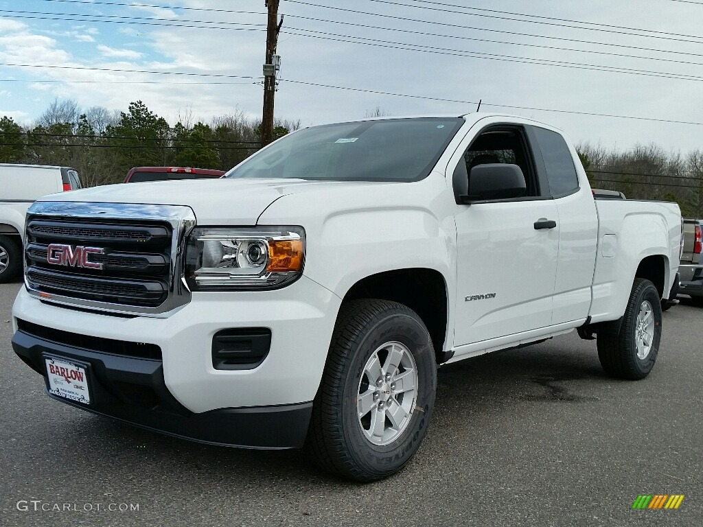 2017 summit white gmc canyon extended cab 117727115 photo 5 car color galleries. Black Bedroom Furniture Sets. Home Design Ideas