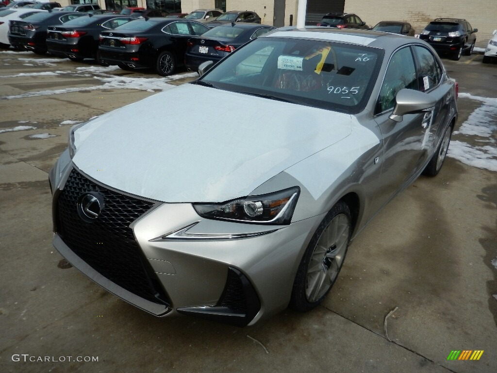 2017 Atomic Silver Lexus Is 350 F Sport Awd 117727493 Car Color Galleries