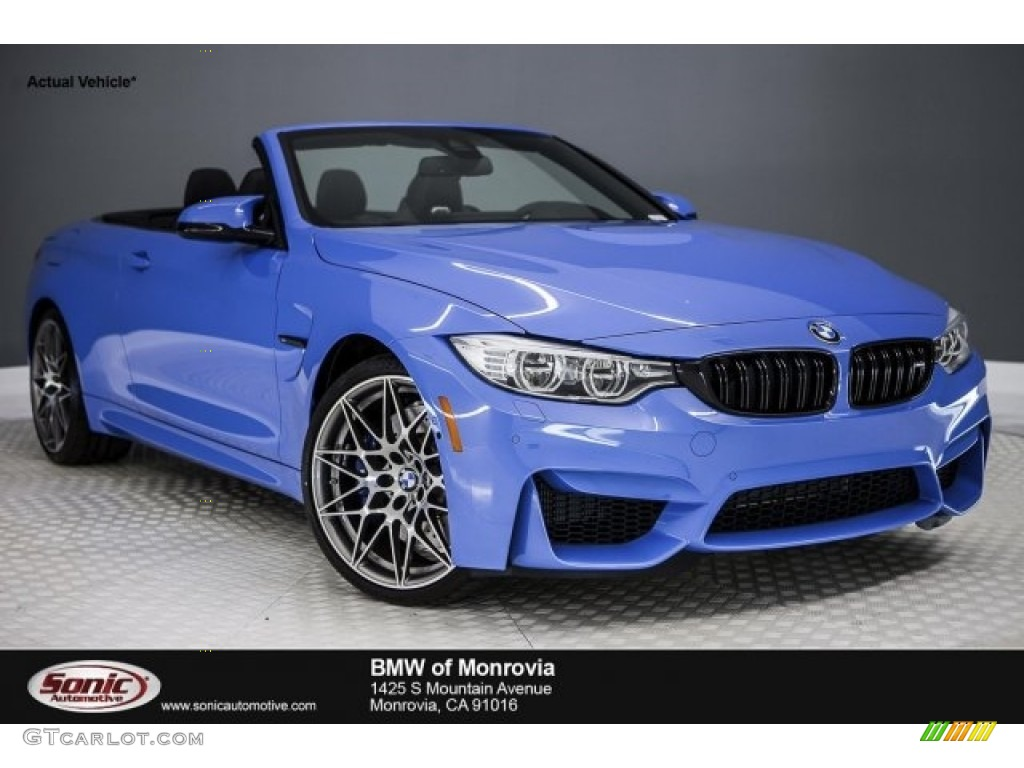blue convertible bmw m4 - photo #8