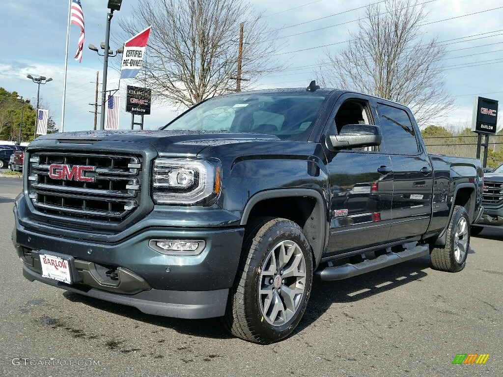 2017 dark slate metallic gmc sierra 1500 slt crew cab 4wd. Black Bedroom Furniture Sets. Home Design Ideas
