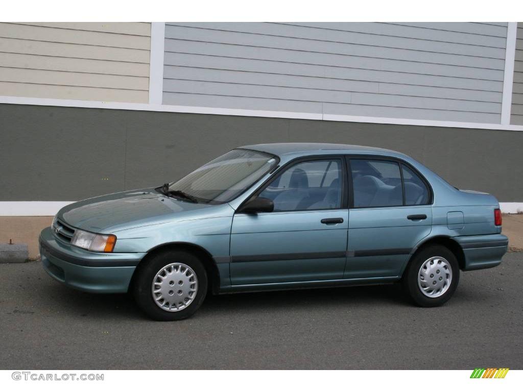 1993 light green metallic toyota tercel dx sedan 11764398 gtcarlot com car color galleries gtcarlot com