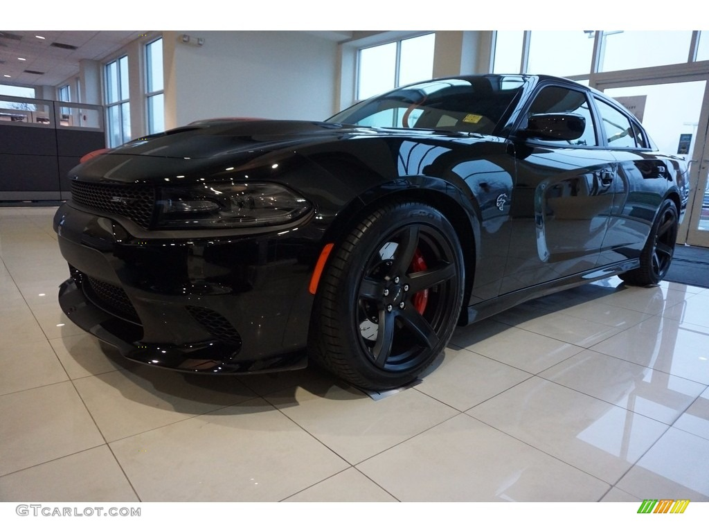 2017 Pitch-Black Dodge Charger SRT Hellcat #117773396 ...