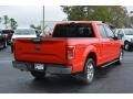 2016 Race Red Ford F150 XLT SuperCrew  photo #3