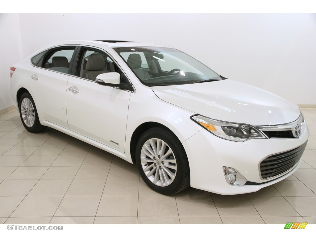 2014 blizzard pearl toyota avalon hybrid xle touring. Black Bedroom Furniture Sets. Home Design Ideas