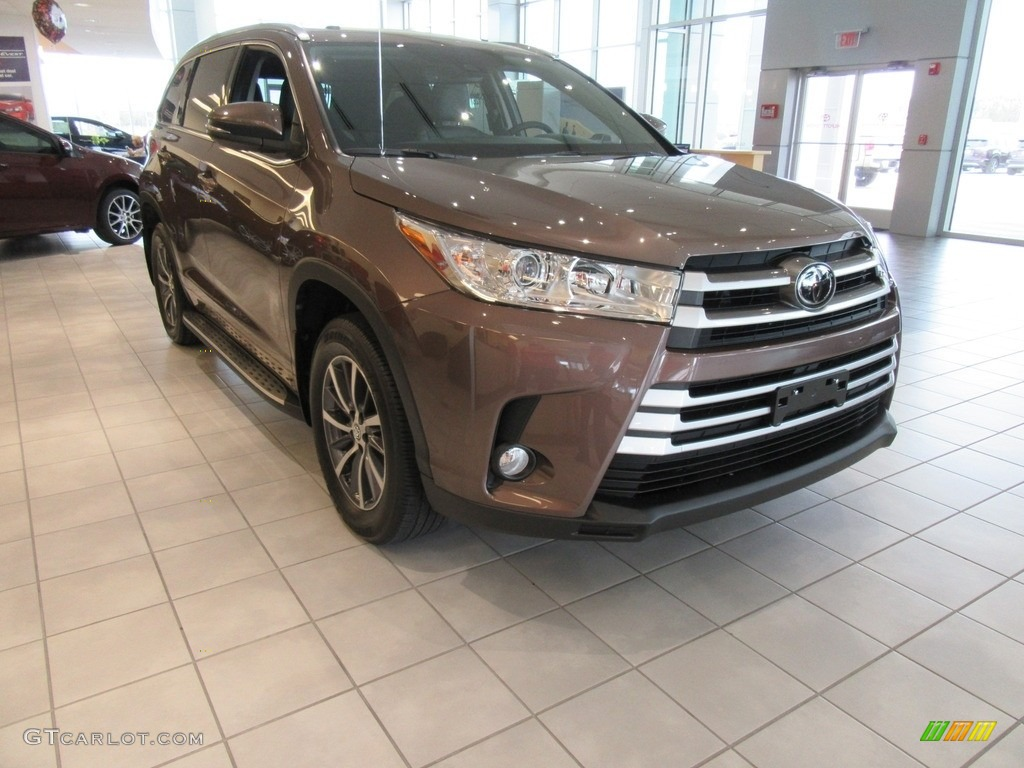Toasted walnut pearl toyota highlander