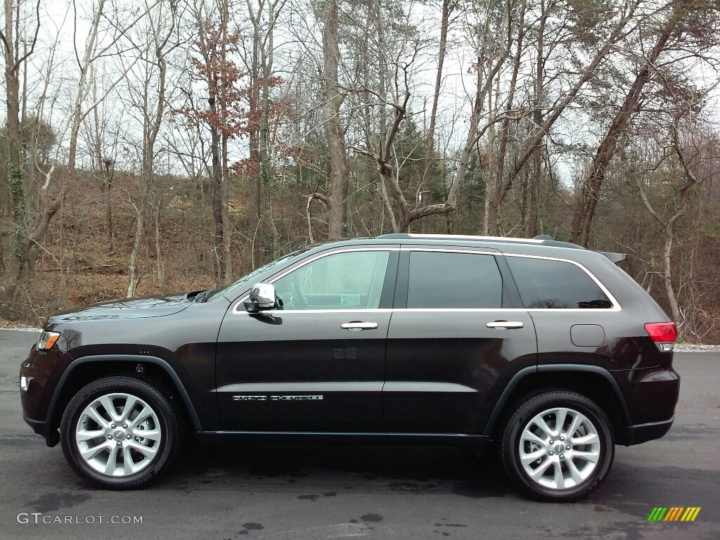 2017 luxury brown pearl jeep grand cherokee limited 4x4 - 2017 jeep grand cherokee interior colors ...