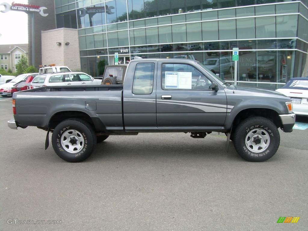 1994 dark gray metallic toyota pickup sr5 v6 extended cab 4x4 11764406 gtcarlot com car