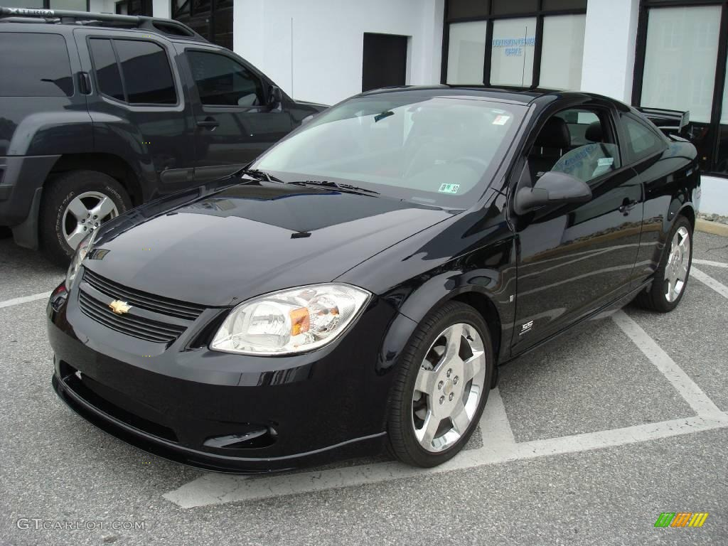2007 black chevrolet cobalt ss supercharged coupe. Black Bedroom Furniture Sets. Home Design Ideas