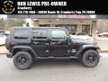 Black 2007 Jeep Wrangler Unlimited Sahara 4x4