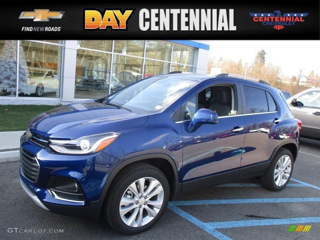 2017 Blue Topaz Metallic Chevrolet Trax Premier Awd 117792525
