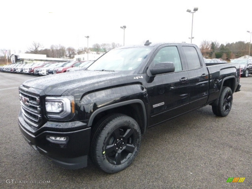 2017 onyx black gmc sierra 1500 sle double cab 4wd 117792578 car color galleries. Black Bedroom Furniture Sets. Home Design Ideas