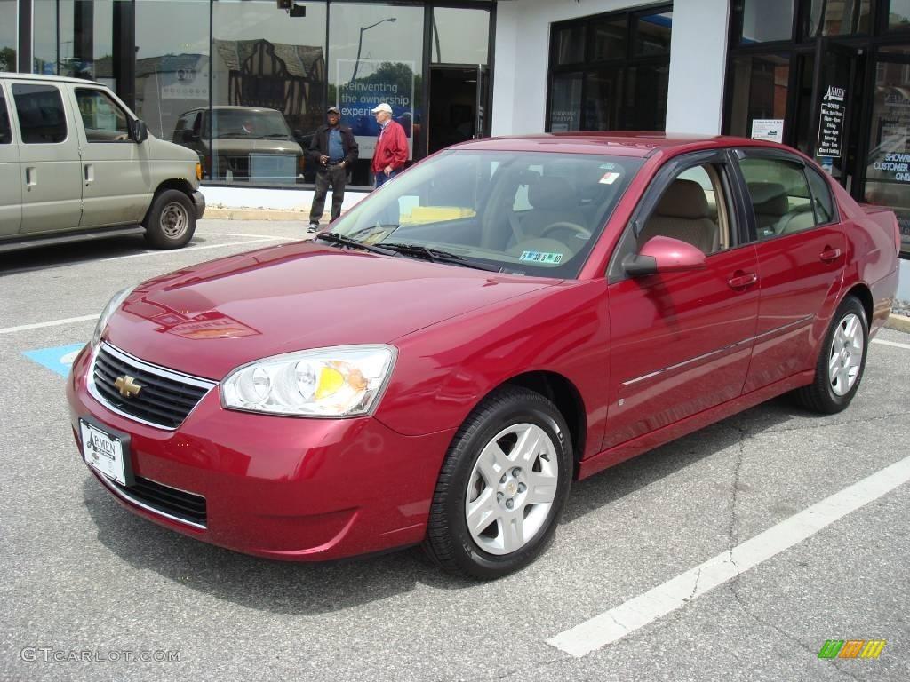 2006 Sport Red Metallic Chevrolet Malibu Lt V6 Sedan 11771067 Gtcarlot Com Car Color Galleries
